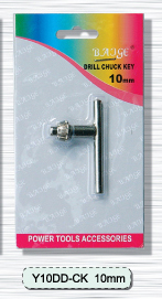 (Y10DD-CK) 10mm electroplating key
